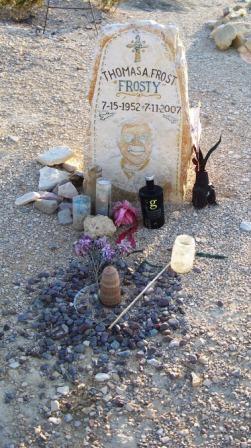 Frosty's grave